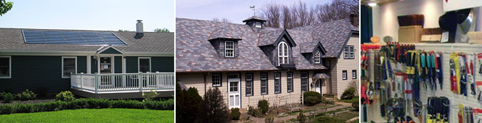 Liberty Roofing Center Products